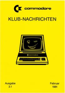 Commodore-Klub-Nachrichten